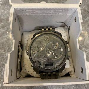 Diesel 3 Bar DZ7247 big faced Watch